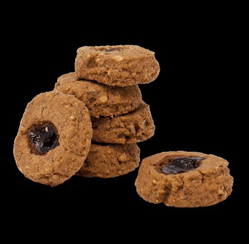 Biscotti linzier con marmellata